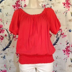 Michael Michael Kors Gauze Like Top Size L